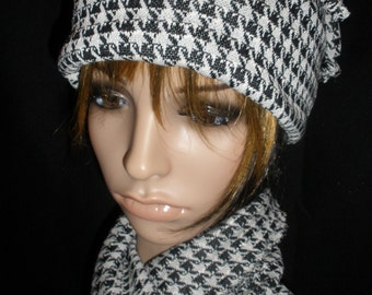 Attractive and Cool 3 Piece Set Hat, Extra Long Scarf, and Arm Warmers