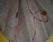 Hippie beaded becklace