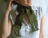 echo scarf - meadow moss