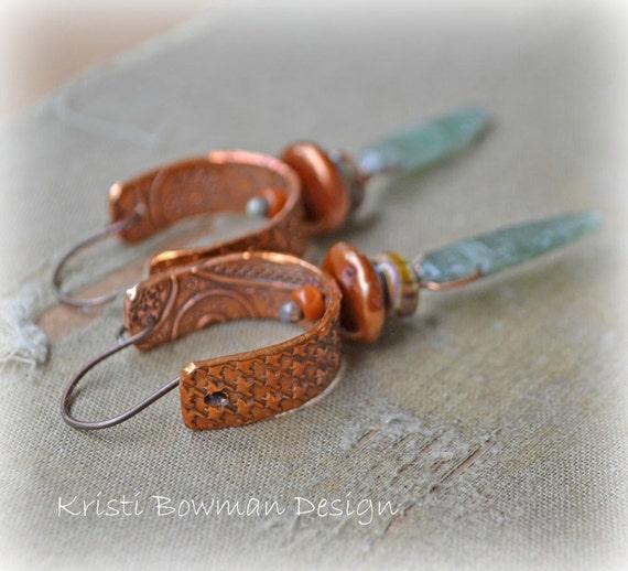 Handmade Bohemian Wrapsody Earrings