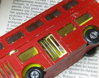 Toy Bus Matchbox Superthings The Londoner Made in England Vintage Metal