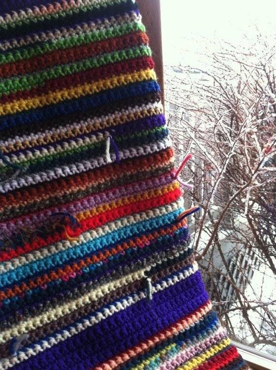 Surprise Scrap Lapghan - warm, soft, colorful