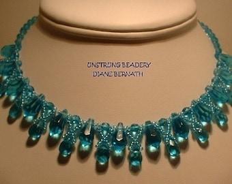 Crystal Drops Necklace Tutorial, Download
