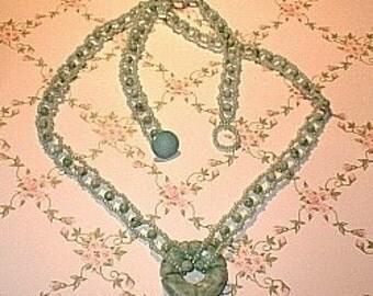 Jade Dreams Necklace Tutorial - Pattern Download