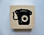 Reserved for Chen - Retro PHONE RUBBER STAMP