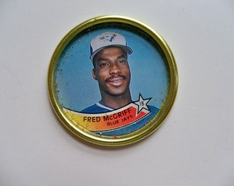 FRED McGRIFF Topps Baseball Coin/MLB Souvenirs/Vintage Baseball