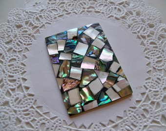 ABALONE MOSAIC PENDANT/Abalone Pendant/Mosaic Pendant/Abalone