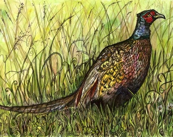 One More Day - PHEASANT PRINT
