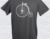 Old Fashioned Bicycle Mens T-Shirt - Sizes S, M, L, XL