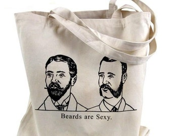 Beards Are Sexy Tote Bag