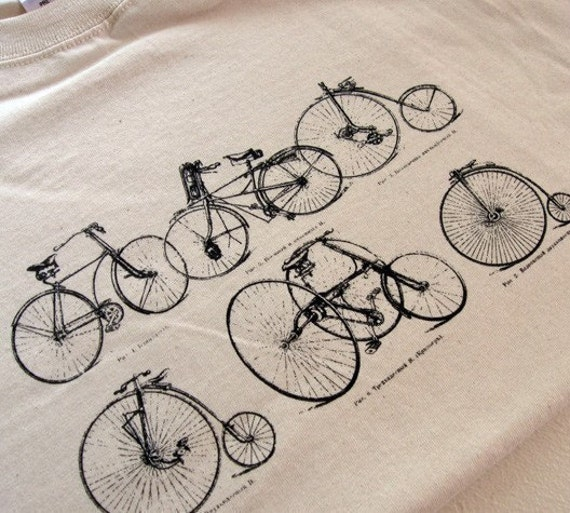 A Bicycle History Mens T-Shirt - Sizes S, M, L, XL