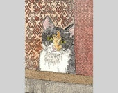 Reece Cat Time for Poor Kitty ACEO from Theodora