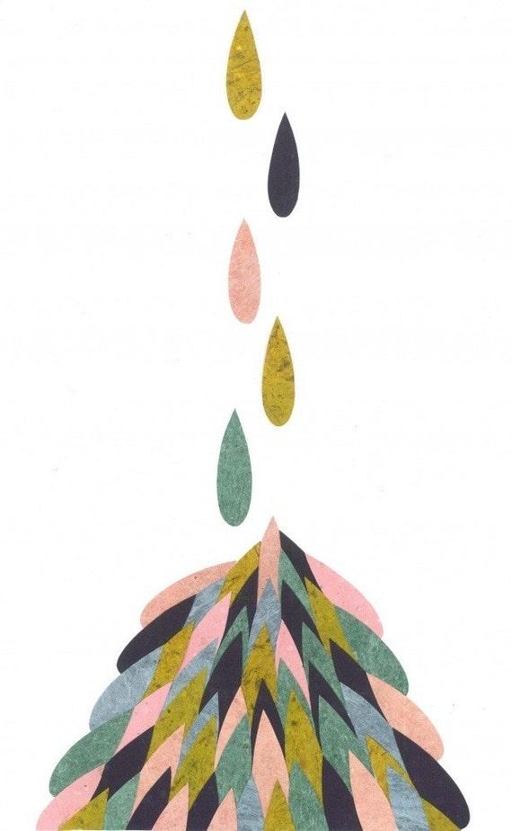 Hills Of Tears - A Blank Card