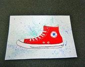 4 Converse Watercolor (reserved for CJAdonis)