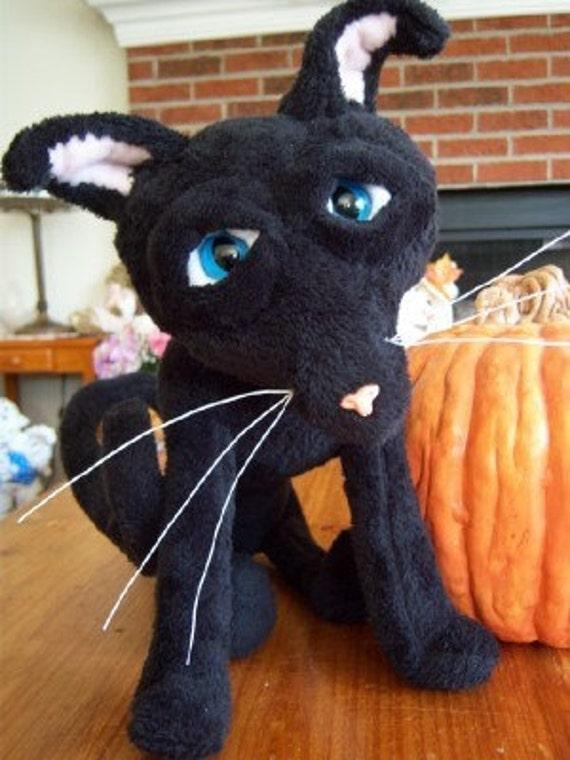 Coraline Cat Coraline S Movie Black Cat Plush By Dawnmilstrey