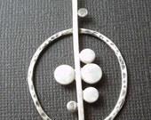 Hoop Bubble pendant