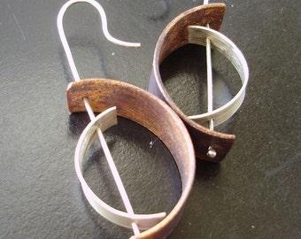 Crescent2 Earrings