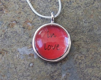 in love - itty bitty necklace