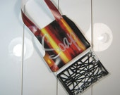 Hanging Travel Soap Caddy Bag, red yellow black