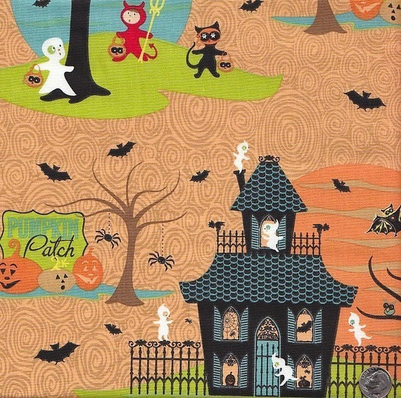 End of Bolt - Last 1 Yard 8 Inches Left - Costume Club Halloween Scenic by Sheri Berry