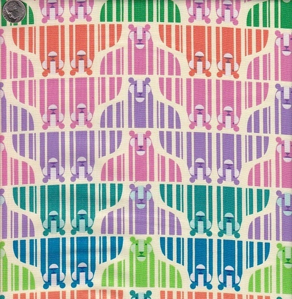 Last Yard in Stock - Zoo Menagerie Tiger Stripe in Multi