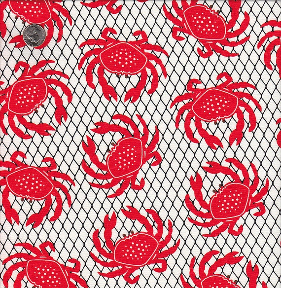 Last Yard Available - Hoodie's Catch the Crab in Red and White
