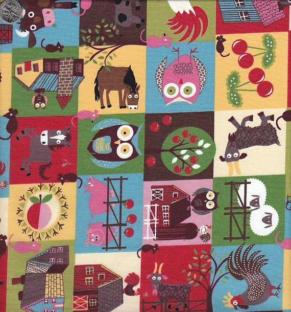 Home To Roost Farm Patchwork