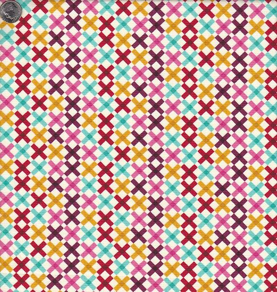 Moda Domestic Bliss Multicolored Crosses