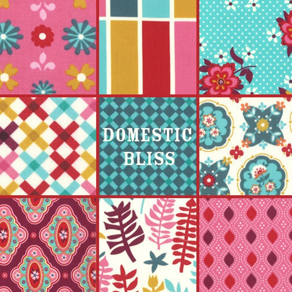Last Pack in Stock - Moda Domestic Bliss Charm Pack