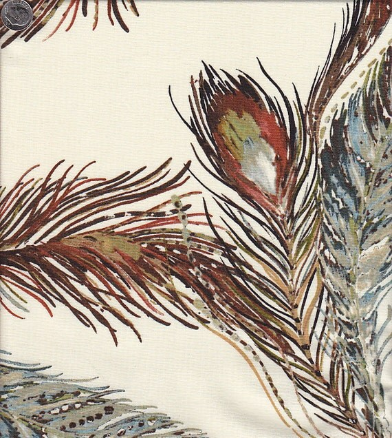 Dear Stella Marea Feathers in Brown and Cream