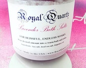 Lavender Bath Salts - For Blissful, Endless Soaks - Royal Quartz