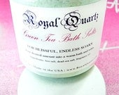Green Tea Bath Salts - Soothing hypnotic scent, a great soak - Royal Quartz