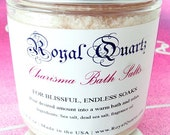 Charisma Bath Salts - Uplifting citrus scent, a great soak - Royal Quartz