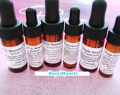 Royal Quartz Facial Oil Set . Large . 8 Drams . 1.0 Oz