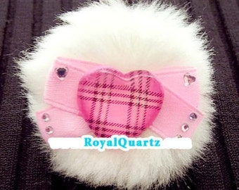 Queen of Hearts Ring .  kawaii cute girly and a great Christmas gift . Royal Quartz