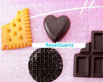 Kawaii Miniature Sweets Set -- For Japanese keychains or crafts