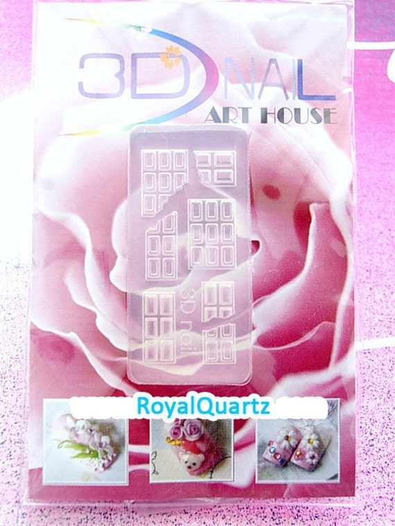 Japanese 3D Nails Decoration - Chocolate Bar Pop mold (Adorably cute and girly craft/hobby)