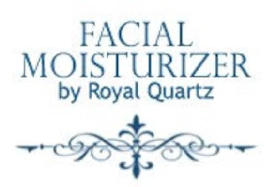 Facial Moisturizer . Small . 2 Drams . 0.25 Oz . Royal Quartz