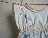 Hand Embroidered Tunic, Size 10 years