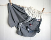 father to daughter tiered cotton skirt 4 to 6 years