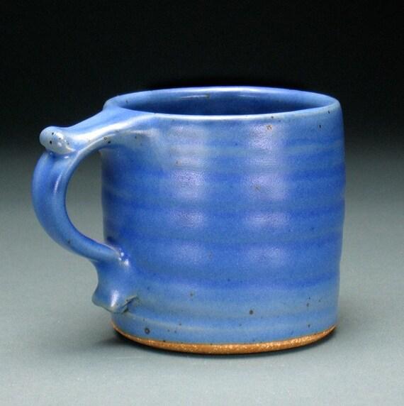 Dark Blue Small Thumbrest Mug
