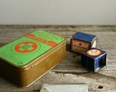 vintage boy scout first aid tin