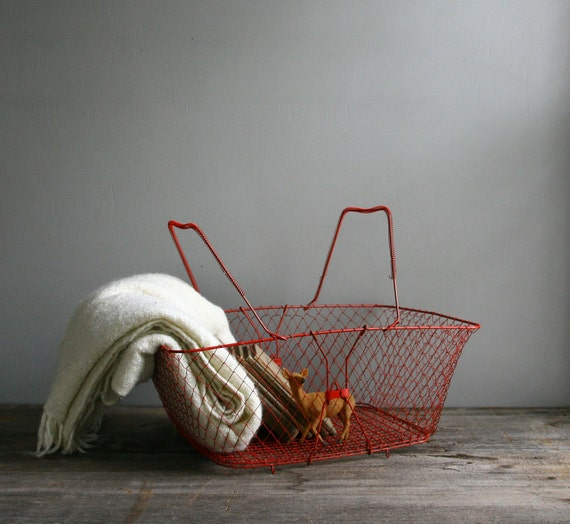 collapsible market basket
