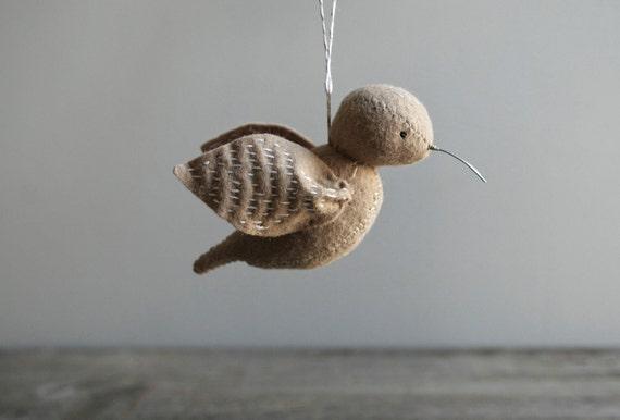 little bird in flight