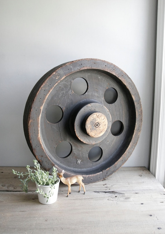 ON HOLD / huge foundry mold / machine age industrial decor / no. 7