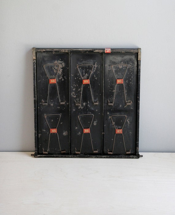 ON HOLD / antique clip board display / inspiration board