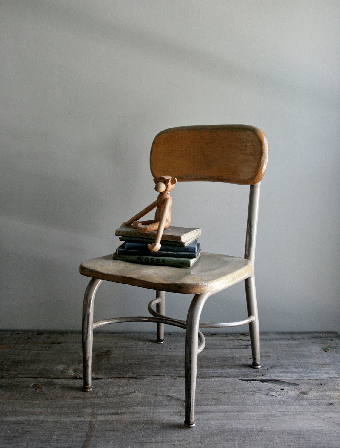 childs school chair by heywood wakefield by ohalbatross on Etsy
