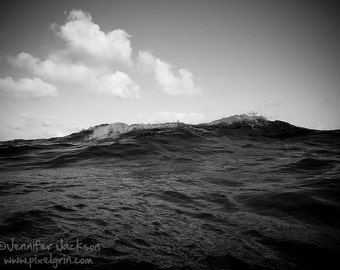 Ocean Photography Black and White 8 x 10 inch Fine Art Photography Print