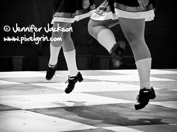 Irish Dance Poster 12 x 18 Traditional Step Dancing