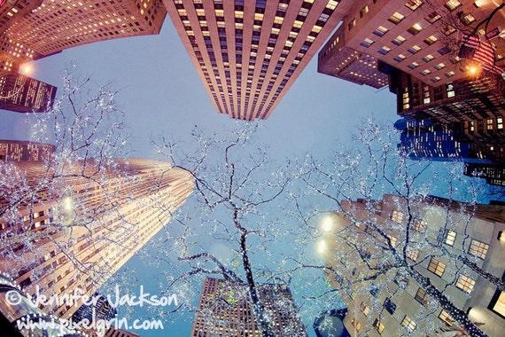 NYC Art Print - Inside Manhattan 20 x 30 inch Photograph by Jennifer Jackson